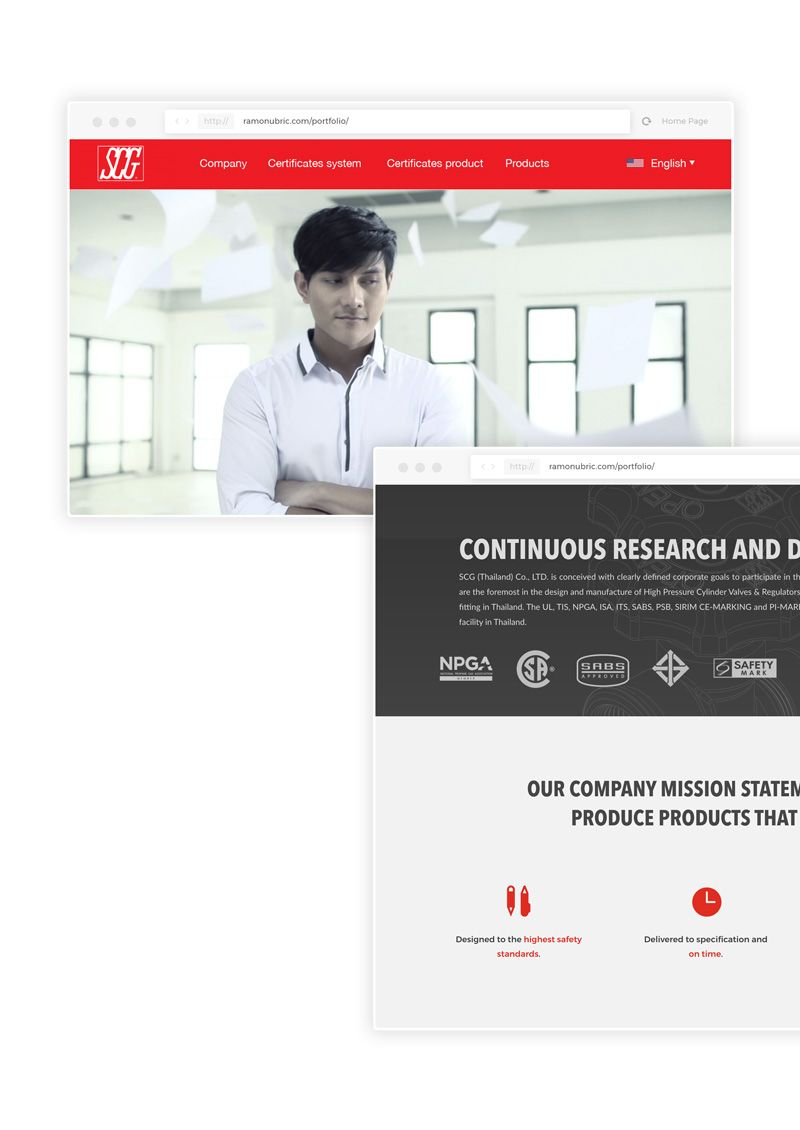 scg web diseño