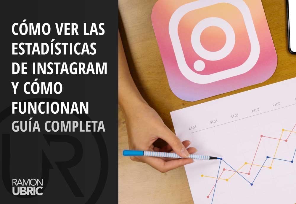 como ver las estadísticas de instagram